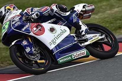 Castrol con il team Gresini Moto3 dal Sachsenring