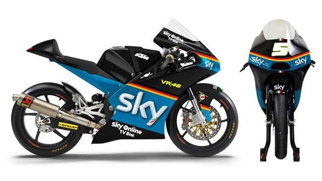 "Nuova livrea ""tedesca"" per lo Sky Racing Team VR46"
