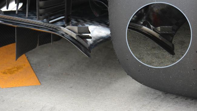 Ferrari: c'è un ricciolo sul generatore di vortice