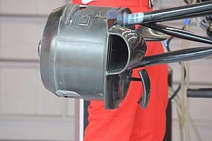 Ferrari: c'è una modifica alla brake duct anteriore