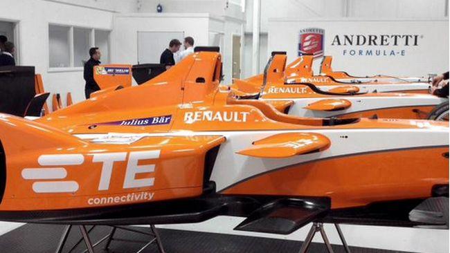 Londra, nuova livrea per il team Andretti Autosport