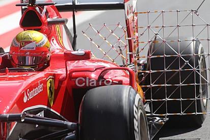 """Gutierrez: """"Prove aerodinamiche e di gomme Pirelli"""""""