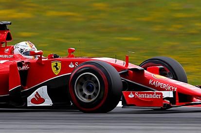 Austria, Libere 3: Vettel è davanti prima della pioggia