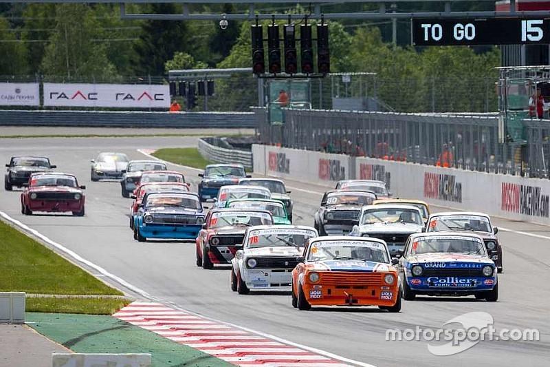 На Moscow Raceway пройдут гонки классических автомобилей