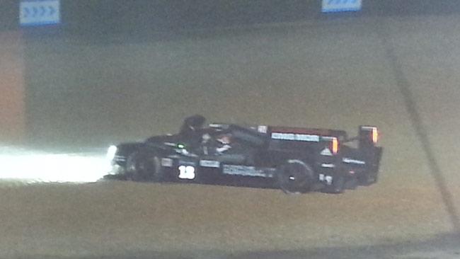 Le Mans, 11° ora: Jani si insabbia a Mulsanne