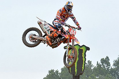 Jeffrey Herlings conquista le qualifiche a Maggiora