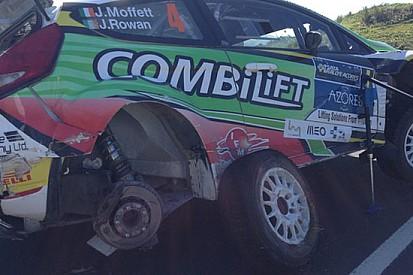 Ecco come è ridotta la Fiesta RRC di Josh Moffett