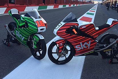 Nuova livrea tricolore per lo Sky Racing Team VR46