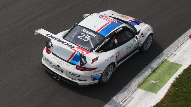 Monza, Libere 1: Agostini detta il passo a Ledogar