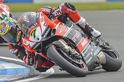 Due terzi posti per Davies e Ducati a Donington
