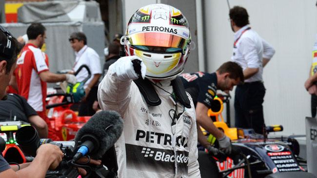 """Hamilton: """"E' una pole che ha un grande significato"""""""