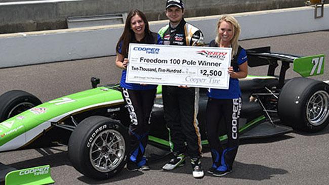 Pole e record per Ethan Ringel ad Indianapolis