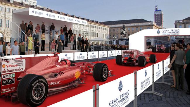 Anche le F.1 al Parco Valentino di Torino a giugno