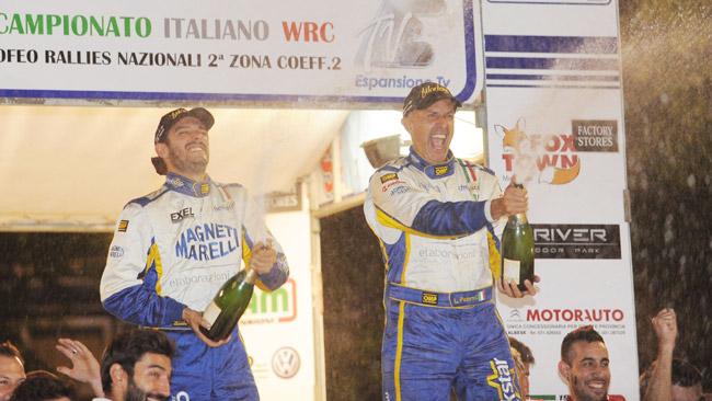 Il 2015 di Luca Pedersoli inizia all'Imola Rally Circuit