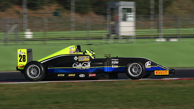 Due giorni di test positivi per Vieira a Vallelunga