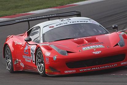 Due Ferrari 458 GT3 per il Team Malucelli