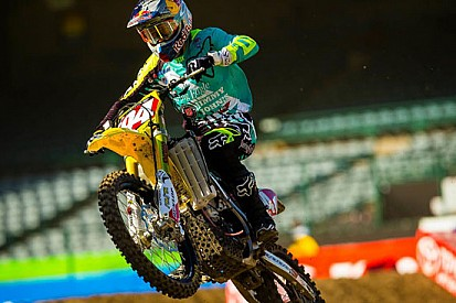 Bis di Ken Roczen all'Angel Stadium di Anaheim