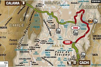 Dakar: si rientra in Argentina con percorsi separati
