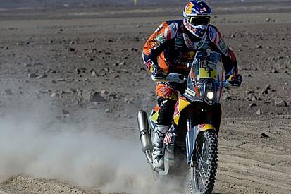 Dakar, Moto, Tappa 5: Coma piazza la sua zampata