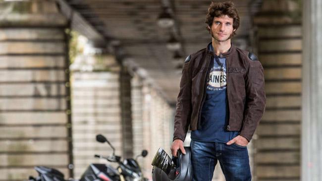 Guy Martin testimonial Dainese al Motor Bike Expo