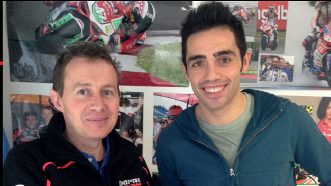 Michele Pirro nel CIV con il Barni Racing Team