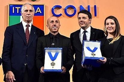 Il CONI premia Agostini, Cairoli e la Fontanesi