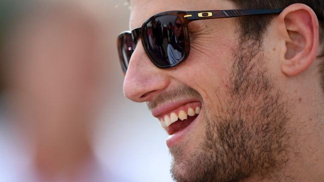 Romain Grosjean nel Trofeo Andros all'Alpe d'Huez