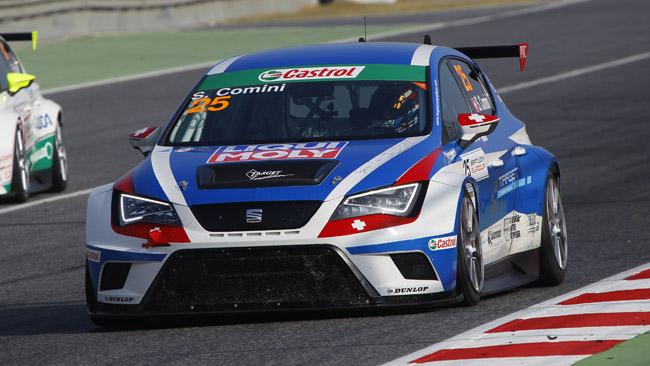 Stefano Comini chiude il campionato al quarto posto