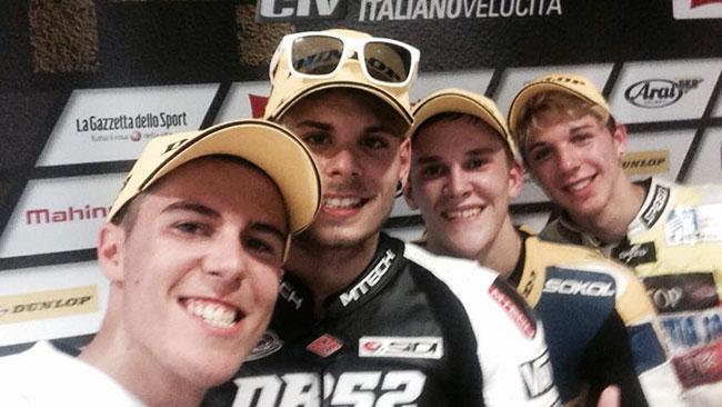 Manuel Pagliani campione italiano 2014