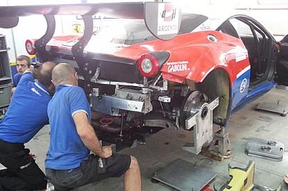 Miracolo: riparata la Ferrari 458 dell'Ombra!