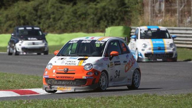 Luca Anselmi in pole position a Pergusa