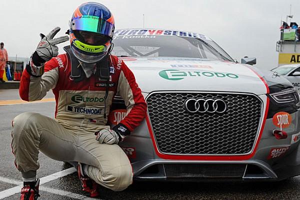 Kostka brilla nella tripletta Audi al Sachsenring
