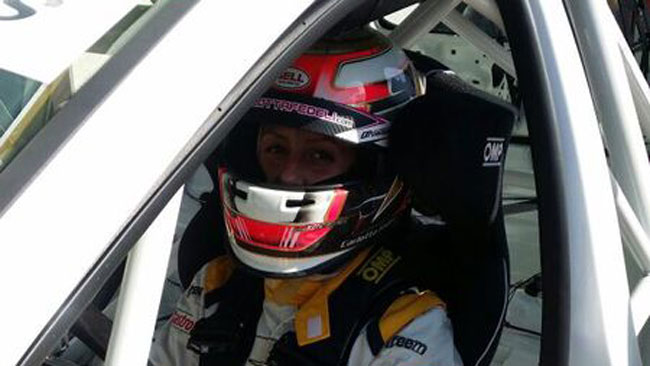 Primi giri con la Seat Leon Cup Racer per la Fedeli