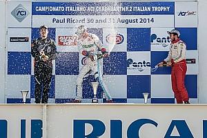 Sesto centro di Piero Longhi in gara 1 in Francia