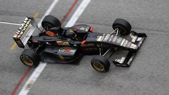 Maurizio Pitorri al via dell'F2 Italian Trophy a Magione