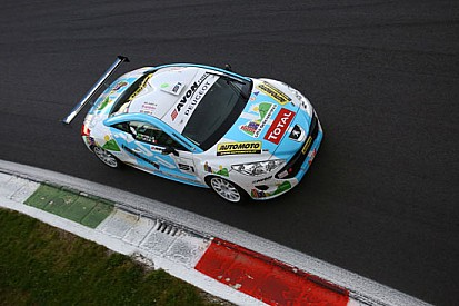 Weekend complicato per le Peugeot RCZ a Monza