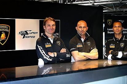 Babini e Zaugg test driver Lamborghini Squadra Corse