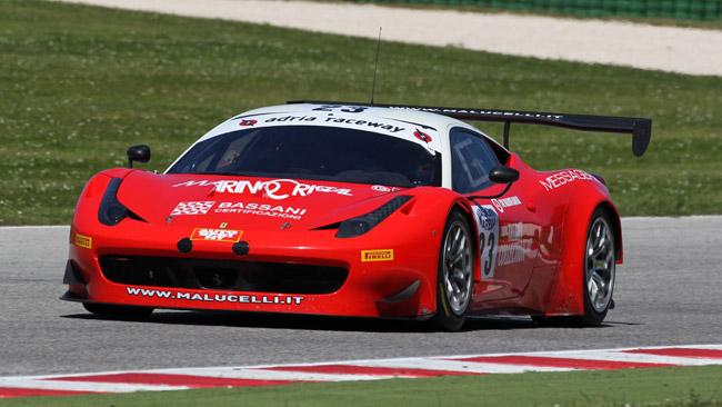 Necchi e Frassineti con il Team Malucelli a Monza