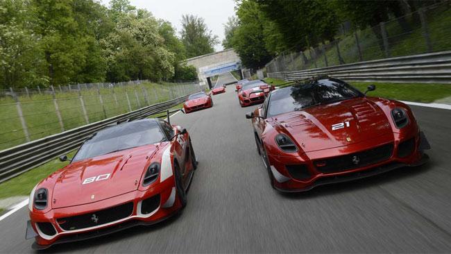 Due giorni di test a Monza per Ferrari Corse Clienti