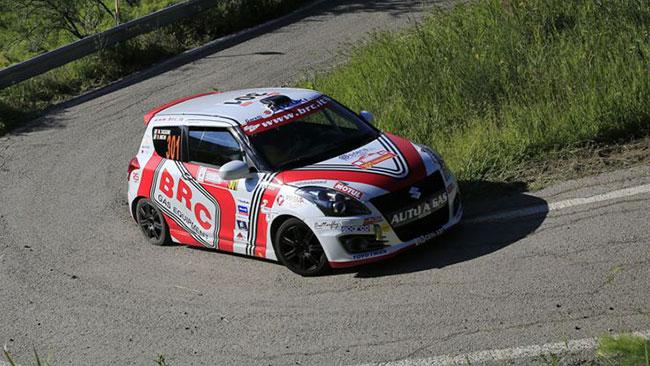 "Suzuki Rally Trophy: a Michele Tassone la ""Targa"""