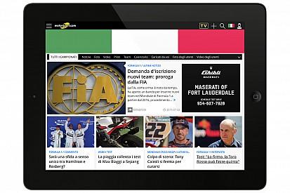 Motorsport.com lance la version italienne de son site Internet