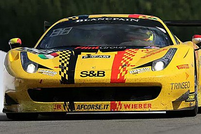 24 Ore di Spa: doppietta Ferrari nelle prime libere