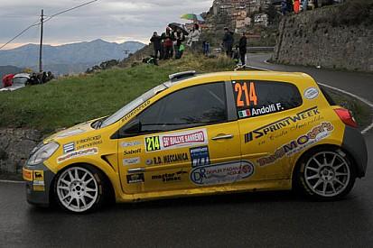 Andolfi strepitoso quarto assoluto al Rally di Sanremo