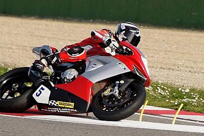 Filippo Benini nel CIV con Laguna Moto Racing Team