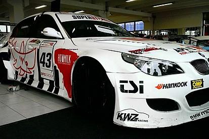 Una BMW del Team Giudici per Gabriele Volpato