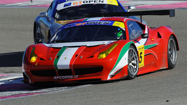 Le Ferrari dominano la Winter Series del Paul Ricard