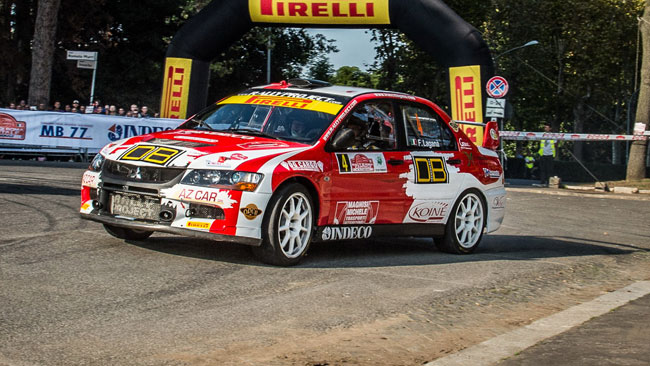 Franco Laganà continua con la Rally Project