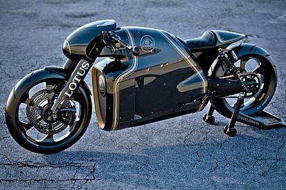 La Lotus debutta nel mondo delle moto con la C-01