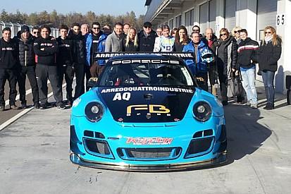 Glauco Solieri al via con la Krypton Motorsport