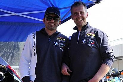 Alessio Velini con i colori del Team BMW 2R